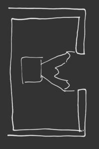 スピーカーをこういう風に取り付けたいのですが、スピーカーの縁がせり上がっていて、その内側にネジの穴があります。この場合、どうすれば密閉出来ますか?