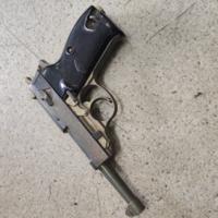 こちらのモデルガンはメルカリで出せますでしょうか?真鍮製で銃口は埋まっています。