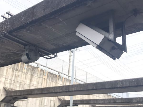 自動車道に設置されていましたが、何のシステムですか?
