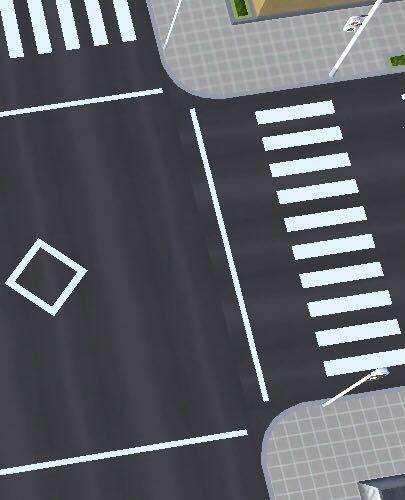 なぜ交差点の中央にこの先交差点ありの表示があるのですか?