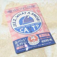 ジジのところに書いてある英語の日本語訳を教えてください。 Jeez, what a snob! and did you see that cat?