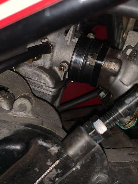 バイクのキャブレターについての質問です NS1にPE24のキャブレターが付いてるんですが、この穴はなんの穴ですか?
