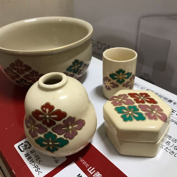 茶道具の絵付け(柄)について教えてください。この柄は何の絵なのでしょうか?よろしくお願いします。