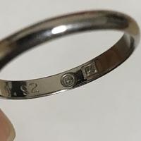 """この指輪の内側に""""H""""の刻印がありますが、どこのブランドのものかご存知の方いらっしゃいますでしょうか?"""