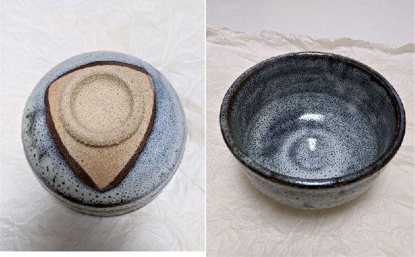 茶道具の茶碗の作品名【~焼】と作家さんの刻印名(刻印がない)が判りません。写真の作品名・作家名は何でしょうか? どなたか詳しくわかる方、教えて頂けないでしょうか? 宜しくお願い致します。m(__)m
