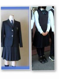この制服はダサいですか?私はこの制服の高校に受験生する予定なのですが、制服がダサいと有名です。皆さんはどう思いますか?