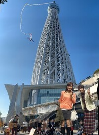 (✌'ω')✌ 大喜利 ✌('ω'✌)  GoToトラベル・二人旅 ⑥ 東京スカイツリー
