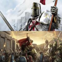 ☆世界史とスターウォーズの関係性について 高校で世界史を学んでいるのですが、中世ヨーロッパ「十字軍」を最近やりました。  十字軍をスペイン語?でいうと、「クルセイダーズ(Crusaders)」になります。 十字軍はキリスト教視点からみれば聖なる軍隊(黒歴史でもあるが)ですが、イスラーム視点からみれば虐殺者(侵略軍)であったと考えられますよね。 実際にイェルサレムが十字軍によるイスラーム虐殺に...