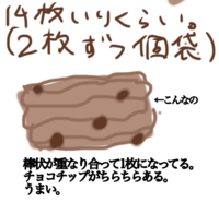 どなたか!こんなクッキーの名前教えて下さい!  長方形の箱で、2枚ずつ個包装です! 市販でスーパーに売ってあります。 細長い生地をシューシューって出して、長方形のクッキーにした感じです!