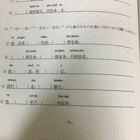 【緊急】これの( )に当てはまる単語と、文章の日本語訳を教えてください。