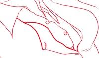 キャラクターイラストの線画を描いていて、キャラの衣類を描くとき、 薄い生地の衣類なら普通にいつものブラシサイズで描けば大丈夫ですが、 生地が厚い場合、厚みを表現するときにはどうすれば良いんでしょうか...