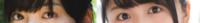 坂道⊿パーツクイズ其の153 画像の現役及び、元坂道メンバーは  左右それぞれ誰でしょう?