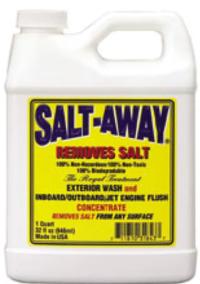 マイボートの方にお尋ねします。塩害除去剤「ソルトアウェイ」の代わりになるものはないですか? 自分はスズキ4ストロークエンジン使っています。