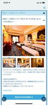 ディズニーシー ホテル ミラコスタ について質問です。 12月に下の画像のポルトパラディーゾサイドスーペリアルームパーシャルビューか、ピアッツァビューか、ピアッツァビュー(アクセシブル)か、ピアッツァグラ...
