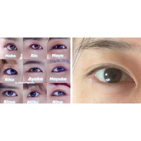 インスタでこんな画像を見つけたので気になったのですが、私の目はNiziUのどのメンバーの目に似ていますか?