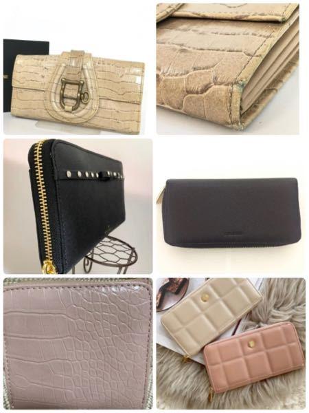 財布のレザーと合成皮革の違いについて 今まで本革財布を愛用していましたが、3年程で角スレや傷etc…ができ、普通に使用する分には大丈夫なのですが、、 (画像1段目のような感じです) 調べてみる...