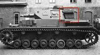 対戦時のドイツ戦車 ドイツ戦車(4号とか)の砲塔の後ろについてるやつってなんなんですか?