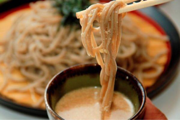 長野県 胡桃蕎麦(くるみそば) 食べたことある?