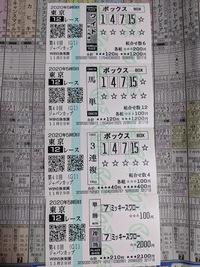ジャパンカップの添付馬券をどう思いますか?^^