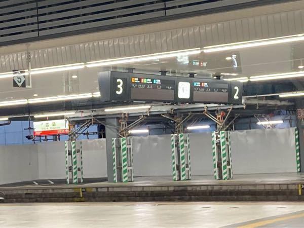 広島駅の電光掲示板が消えました。 何故でしょうか?