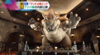 大阪市にあるテーマパーク「ユニバーサル・スタジオ・ジャパン」で 2021年2月4日に開業予定の「SUPER NINTENDO WORLD」にある 新エリア「クッパ城」が報道陣に公開された映像にて 実際のクッパ像を見ましたか?