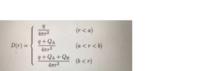 半径 a, b (a < b) の同心の導体球殻 A, B があり,球殻 A と B の間には,誘電率 ε の誘電体が挿入され,他は真空中である。 球の中心に点電荷 q をおき,球殻 A と B にそれぞれ QA, QB の電荷を与えた。以下の問いに答えよ。 (1) 電束密度Dを,Dに関するガウスの法則を用いて、画像の式となることを示せ。r は球殻の中心からの距離である。電束密度Dの方...