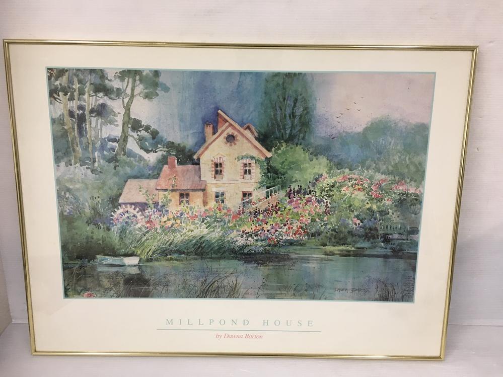 Dawna Bartonと言う水彩画家について詳細ご存知の方いませんか? 略歴などわかれば教えて下さい。