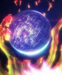 魔法科高校の劣等生 来訪者編の10話で、深雪が使った黒い球体を出す魔法は何という名前の魔法ですか?