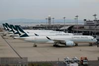 関西空港の写真でキャセイパシフィック航空の機体が並んでとまっている写真がありましたが、コロナ前は、キャセイパシフィック航空は関西空港と香港の営団をバンバン飛ばしていたのでしょうか。