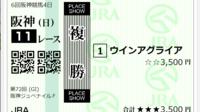 阪神ジュベナイルFの添付馬券をどう思いますか?^^  もう正直分かりません。  あり得ないという声が多いのも承知しています♪ さて、阪神JF、どうなると思いますか??