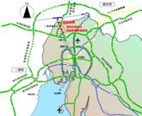 東海北陸自動車道は、名神高速道路と名古屋高速道路16号一宮線の一宮ICに接続する形の方が望ましかったのでは? 国道22号の上に高架橋を建設した方が建設に手間取ることもなかったでしょうし。