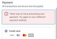 中国のサイトのnotebook therapy( https://notebooktherapy.com/)でバレットジャーナル用ノートを購入しようとしているのですが、初めて使うクレジットカードをApple Payに登録して購入に進もうとしても決済が出来ません。どうしたら購入できますか?