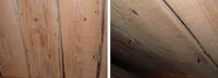畳や台所の床下を点検した所、こういう板でした。 厚みは12mm幅は18cmくらいの長い物です。 何という名前なんでしょうか。 この板が傷んだ時、厚み12mmの板下にひいて フローリングやクッションフロアーを使う場...