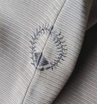 着物の背紋 どなたか教えて下さい。  この写真の紋は、どういった紋なのでしょうか? お分かりの方が、いらっしゃいましたら教えて下さい。