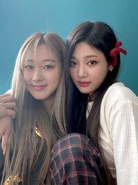 今話題のaespa(エスパ)っていう韓国のグループあるじゃないですか そのニンニンちゃんとジゼルちゃんのペア名?コンビ名ってありますか??