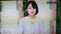 二本木美唯貴TVKキャスターの髪型、特に分け目を採点願います!