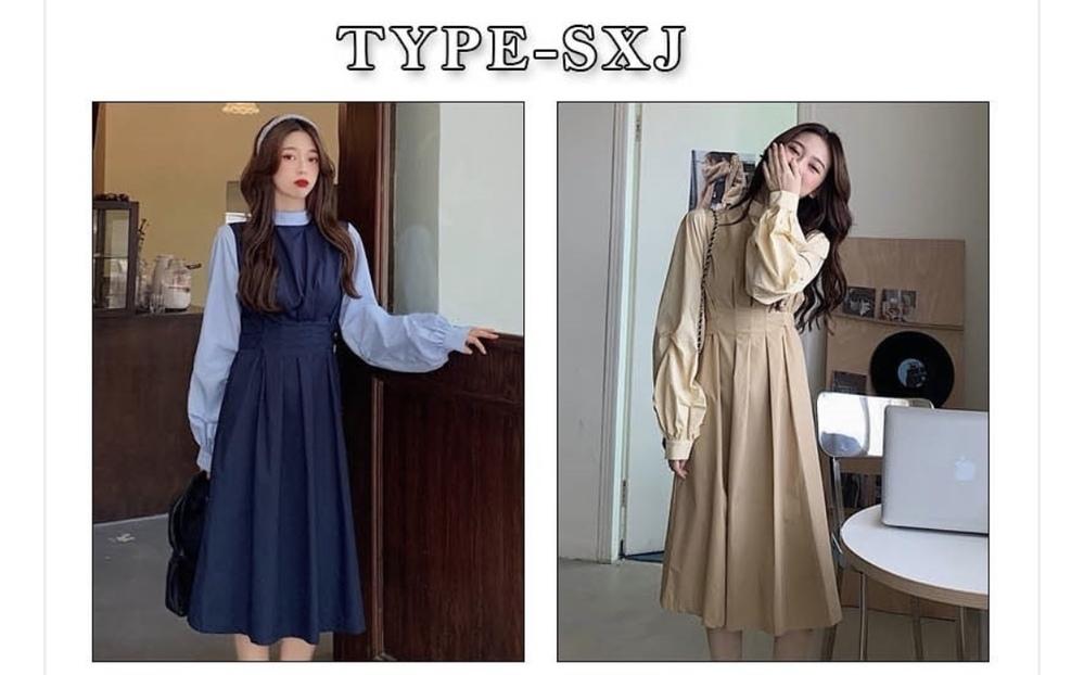 韓国系の服を探しています。 写真のようなQoo10のワンピースがすごく欲しいのですが、レビューから見ても不安なので、似たようなブランドを探しています。 韓国の通販サイトでも韓国っぽい日本のものでもなんでも構いません。 教えてください!