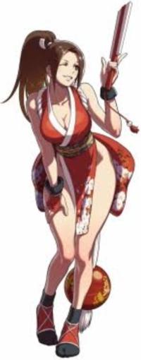 ゲーム好きの皆さんに質問です ストファイの不知火舞の装束って巫女装束ですか?