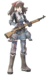 このライフルに近い銃を教えて欲しいです。 戦場のヴァルキュリアという作品に登場するライフルなのですがぽい格好をしてサバゲーしたいです。  完全に似ていなくても合いそうなものでも結構ですので教えてくださ...