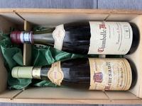 古いワインが祖母のワインセラーから出てきました。 ネットで検索しても同じ物がなくわからないので質問させて頂きます。 左側が白ワイン 右側が赤ワインです。 よろしくお願いします。
