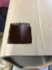 木工パテは、盛り上げたり削ったりできますか? 積層合板に穴を開けたけれど、ヤスリで整えるより、淵を粘土か樹脂か何かで盛ってから整えた方が楽に仕上がりそうです。 木製ファイルでとても削りにくい素材です。 都合上空けています。