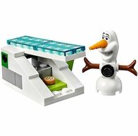 レゴ (LEGO) ディズニー・プリンセス エルサのアイスキャッスル (41062) を購入しましたが、アナと雪の女王の内容をきちんと覚えておらず、付属品が何なのか分かりません…… 画像のオラフの隣の物、どなたか分かるかたいらっしゃいますでしょうか?