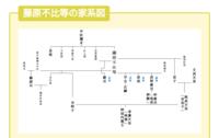 この家系図の続きはないのでしょうか? よければこのような感じの家系図で、淳人天皇らへんの家系図がありましたら教えてください!