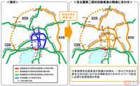 名二環の名古屋西JCT〜飛島JCT間開通に合わせて中京圏の高速道路料金が改定されると聞きましたが、 「名古屋近郊区間」も設定されるので利用区間によっては料金が高くなるということですか?
