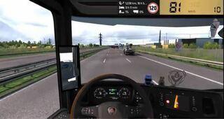 PCユーロトラックシュミレーター2であそんでるのですが 車中の画面右上にスピード表記があるyoutubeを見ました どなたか知ってる方がおられたらmod名を教えてください。