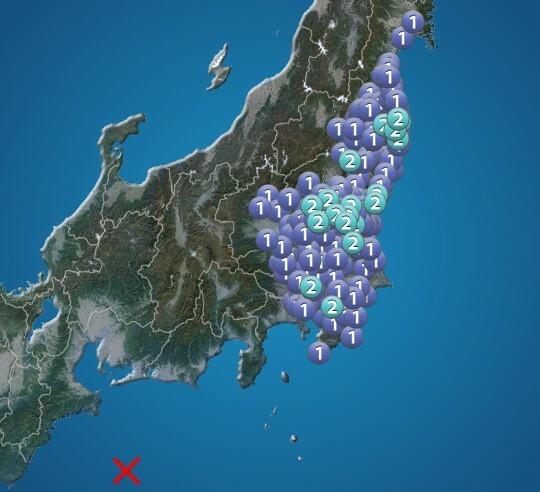 こんな珍しい地震はあるのでしょうか?