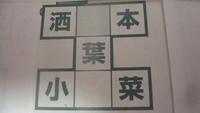 クロスワードについての質問です。空白の箇所の漢字がわかりません。よろしくお願いいたします。