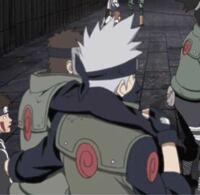 このシーンはアニメの何話のシーンですか? NARUTO NARUTO疾風伝 はたけカカシ ヤマト テンゾウ