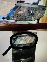ヘッドライトのカバー(?)の名前を 教えてください!  中の電球じゃなくて周りのことです( ; _ ; )