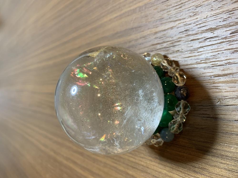 この水晶に何か念とか、気持ちのようなものは感じますか? ずっと大事にしています